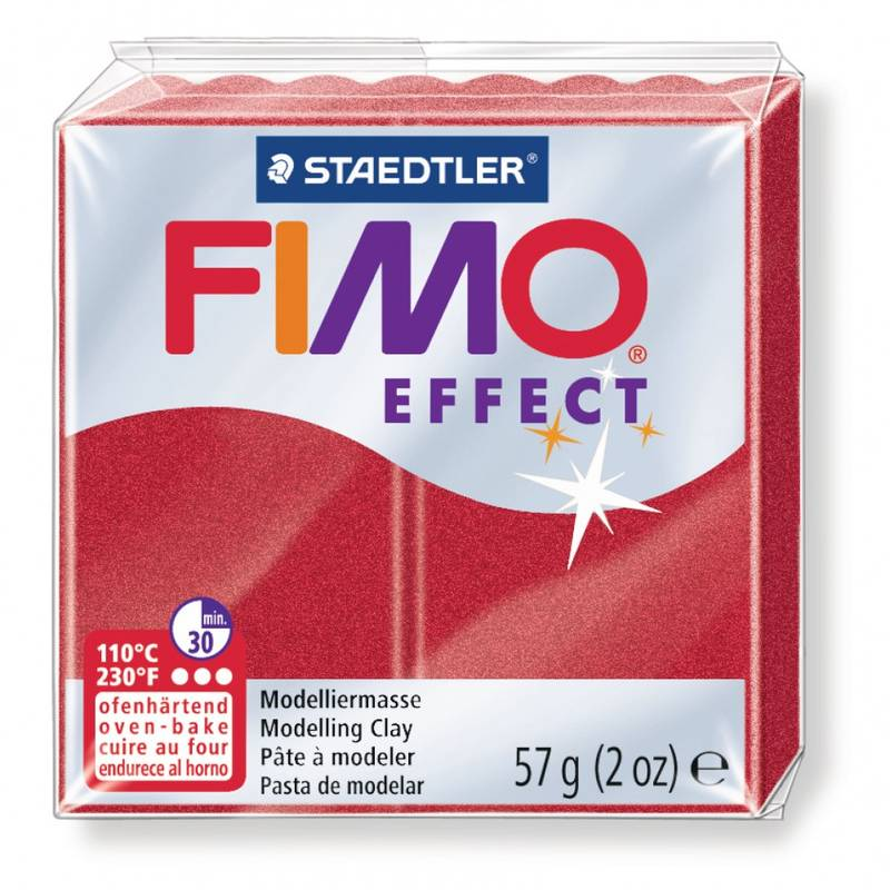 FIMO EFFECT 57G RUBIS METALLIQUE / 8020-28