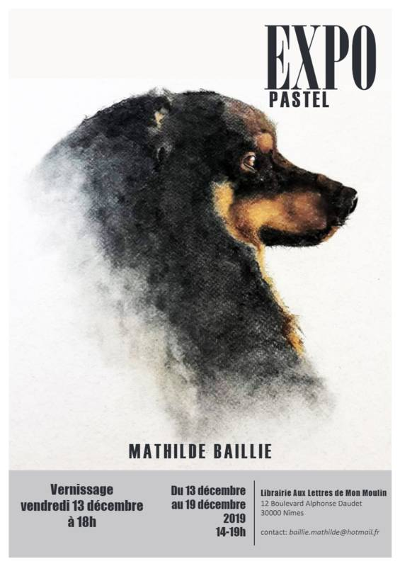 vernissage Expo Pastel   Mathilde BAILLIE