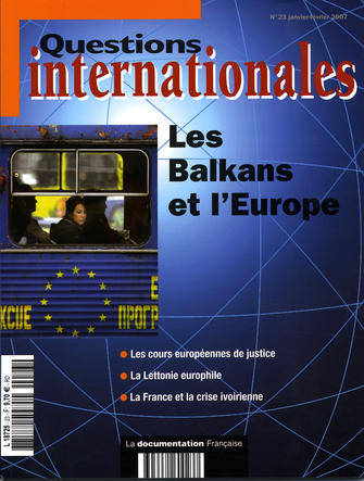 REVUE QUESTIONS INTERNATIONALES T.23 ; les Balkans et l'Europe
