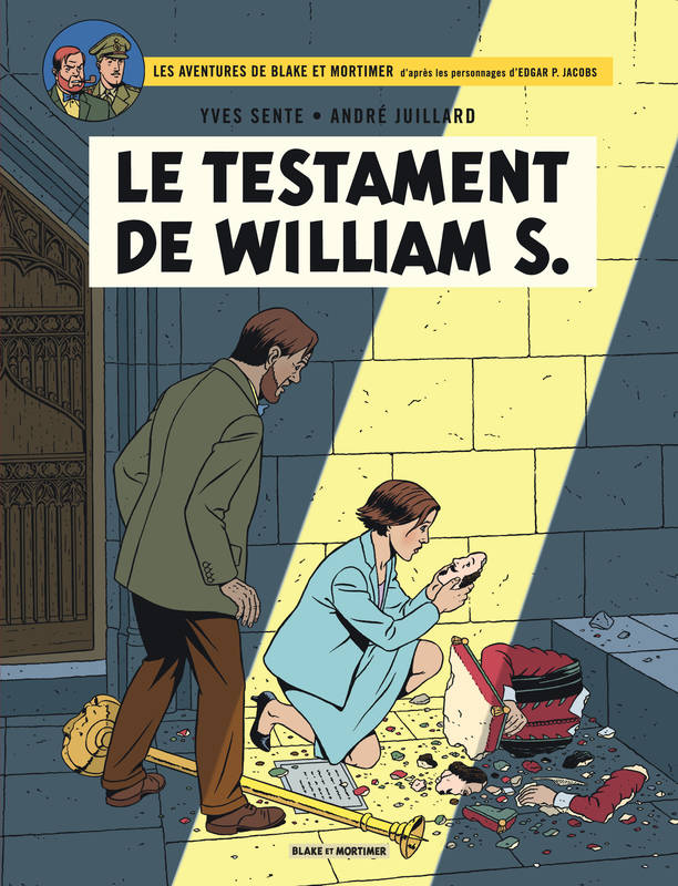 Les aventures de Blake et Mortimer T24, Le testament de William S.