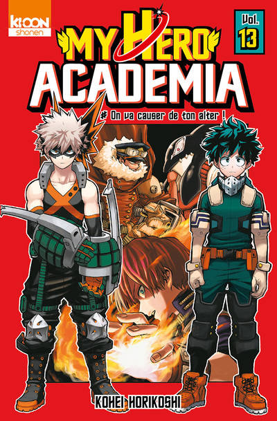 13, MY HERO ACADEMIA T13 - VOL13, On va causer de ton alter