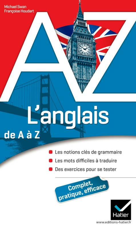 livre l 39 anglais de a z grammaire conjugaison et difficult s michael swan fran oise. Black Bedroom Furniture Sets. Home Design Ideas
