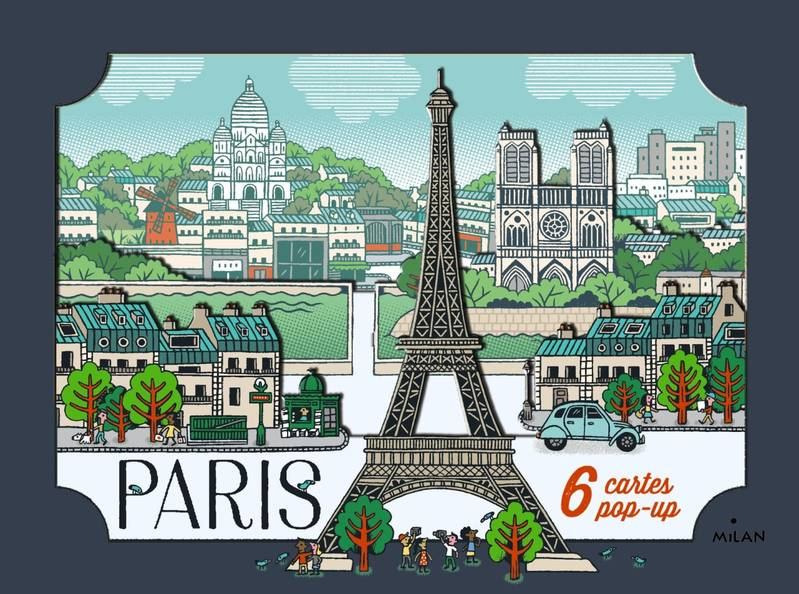 Cartes pop-up Paris
