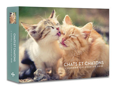 L'agenda-calendrier Chats et Chatons 2018