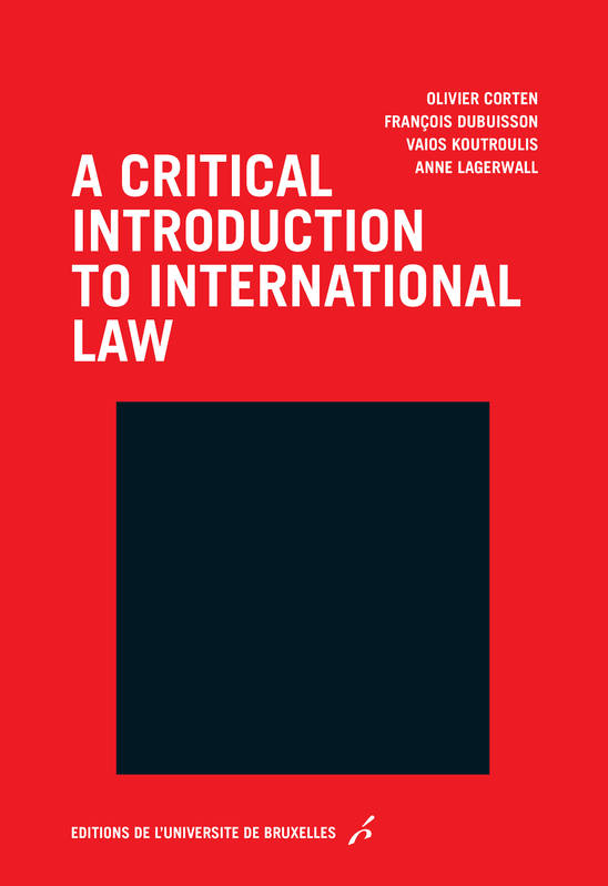 A critical introduction to international law, Essay