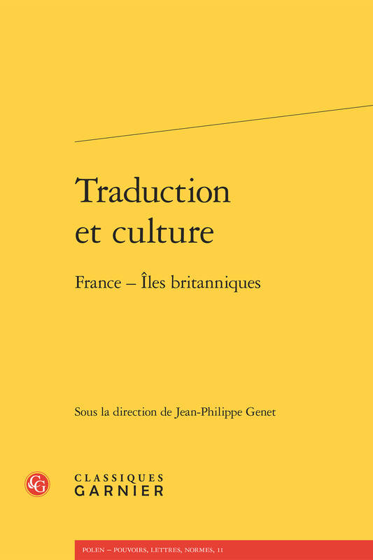 Traduction et culture, France-îles britanniques