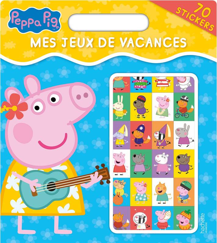 livre peppa pig mes jeux de vacances xxx hachette jeunesse peppa 9782011801760. Black Bedroom Furniture Sets. Home Design Ideas