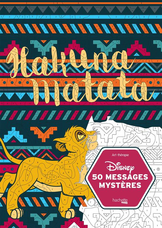Livre Disney 50 Messages Mysteres Collectif Disney Hachette