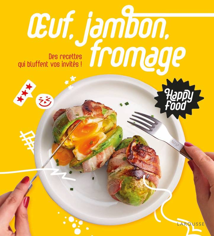 Happy Food Oeuf, Jambon, Fromage