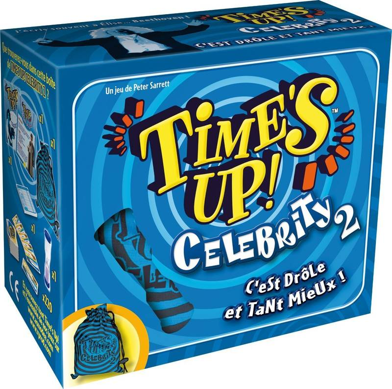 Time's up Celebrity 2, bleu