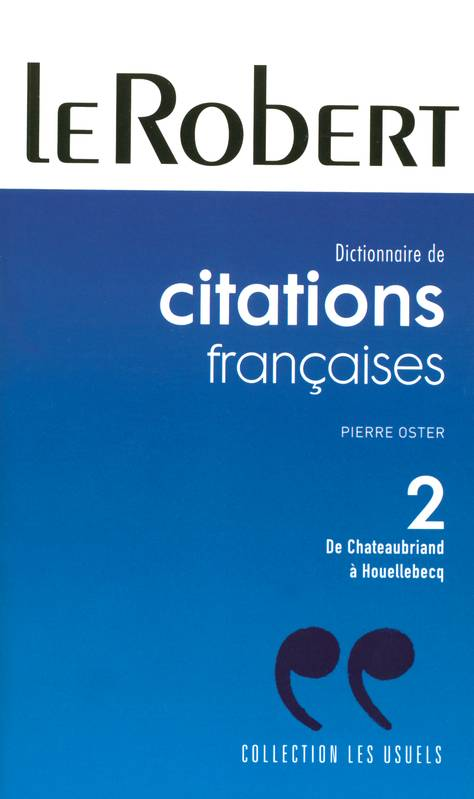 Citations, aphorismes et traits d'esprit