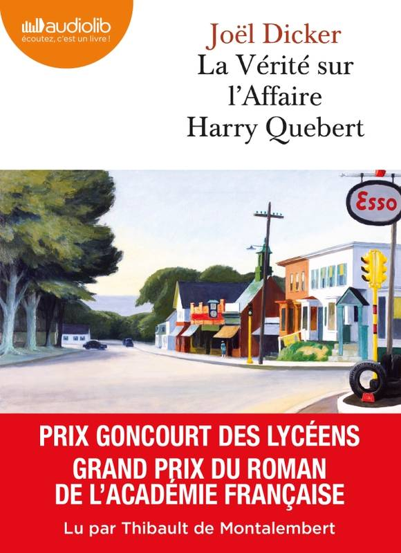 La Vérité sur l'affaire Harry Quebert, Livre audio 2 CD MP3 - 650 Mo + 530 Mo