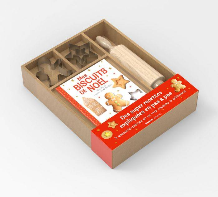 Coffret mes super biscuits de Noël