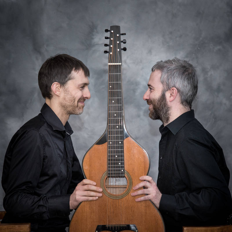 Duo de chant breton et guitare hawaïenne
