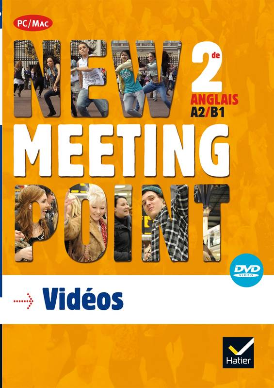New Meeting Point 2nde éd. 2014 - DVD vidéo + images fixes