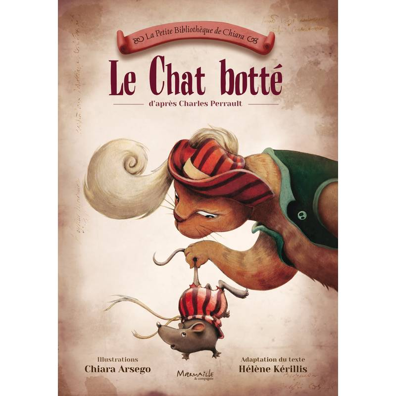 Le chat botté audio gratuit