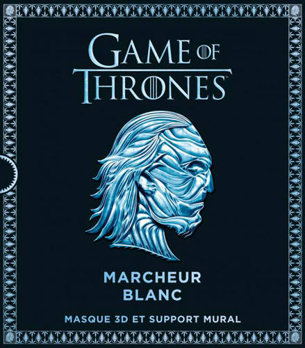 Game of thrones / masque marcheur blanc