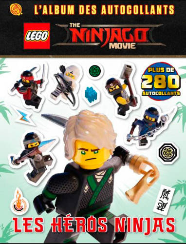 Livre Lego Ninjago Movie Xxx Qilinn 9782374930763 La