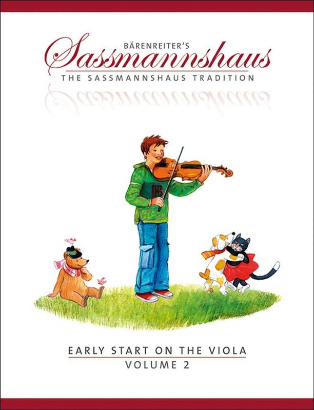 Early Start 2, A viola method for children