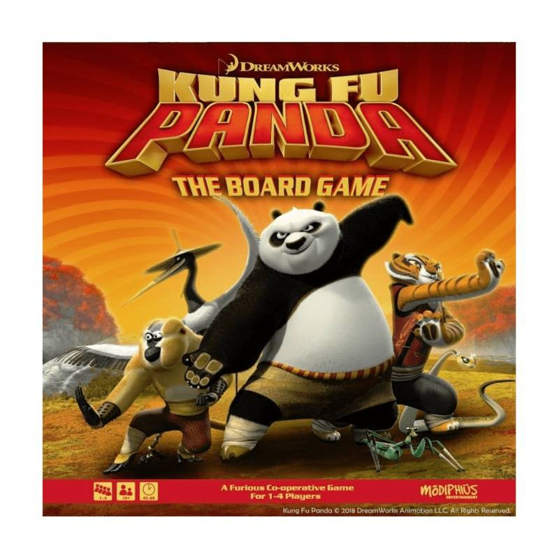 Kung Fu Panda The Board Game VO