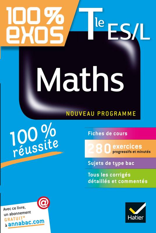 Maths Tle ES, L, Exercices résolus - Terminale ES, L