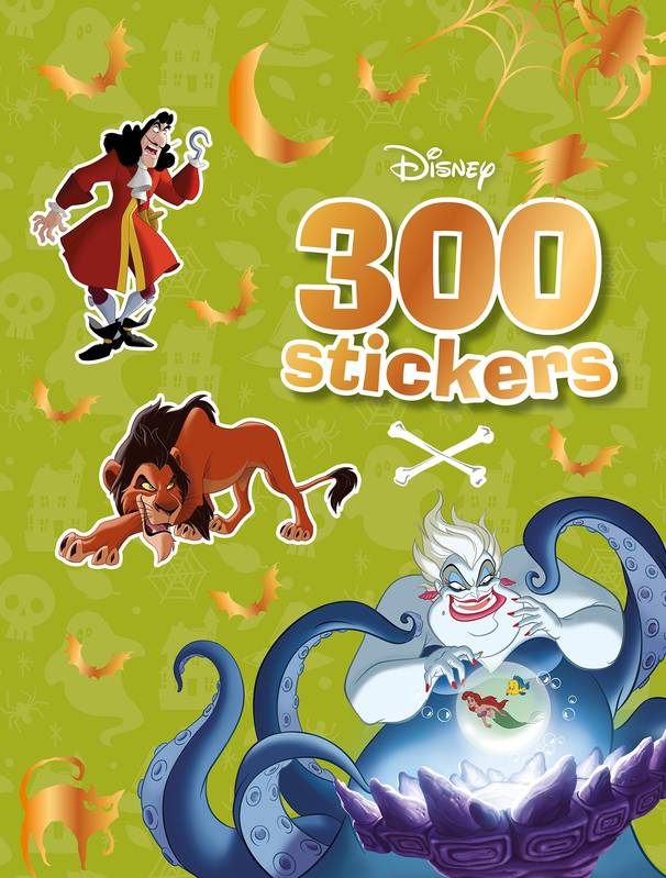 Livre Disney 300 Stickers Special Halloween Xxx