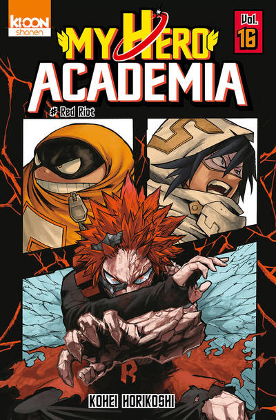 16, My hero academia , Red riot