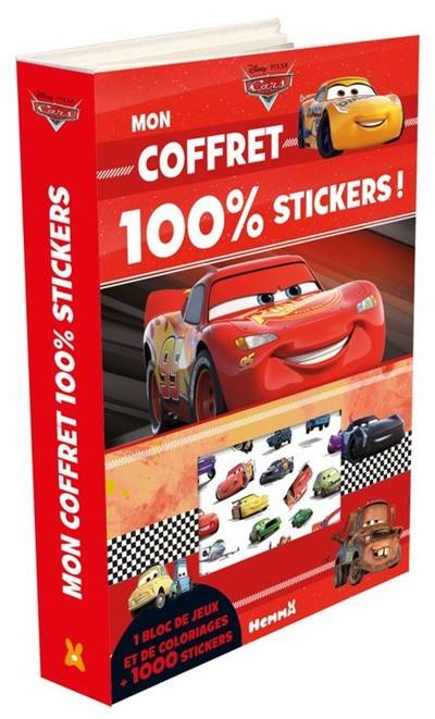 Cars - Mon coffret 100% stickers