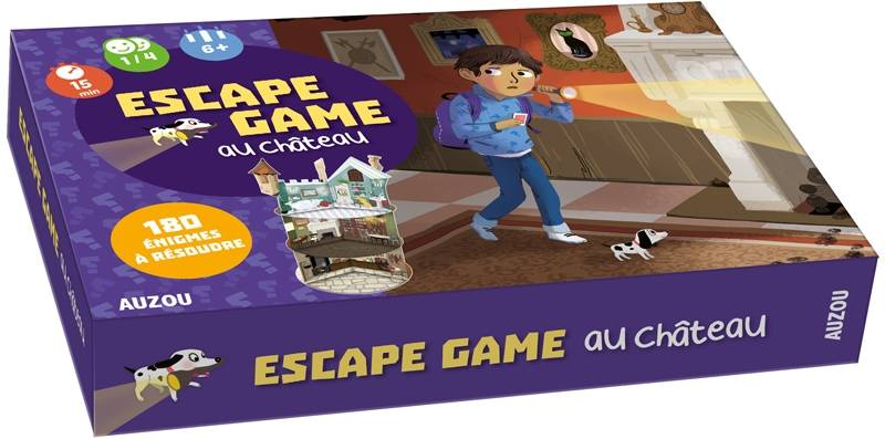 MON GRAND JEU - ESCAPE GAME AU
