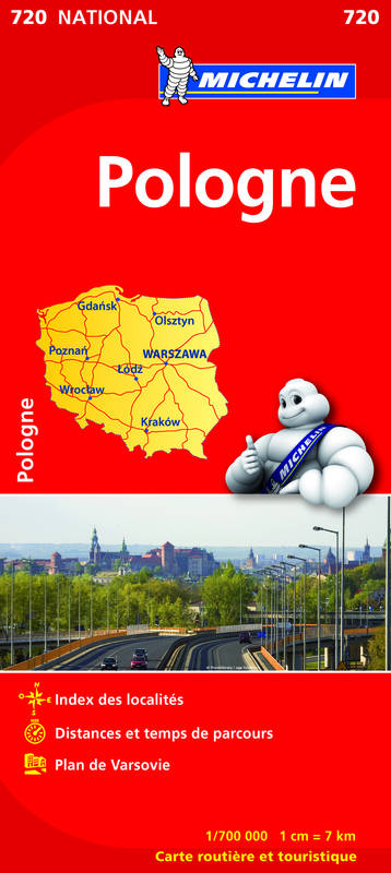 CR EUROPE  Pologne 2012 1/700 000