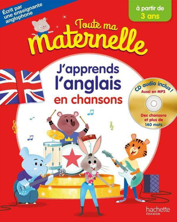 J'apprends l'anglais en chansons + CD audio