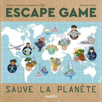 Escape game, Sauve la planète, Escape game
