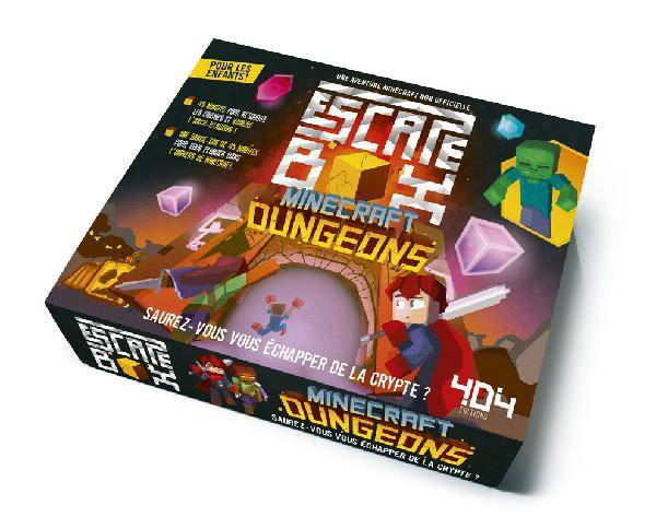 Escape Box Minecraft Dungeons