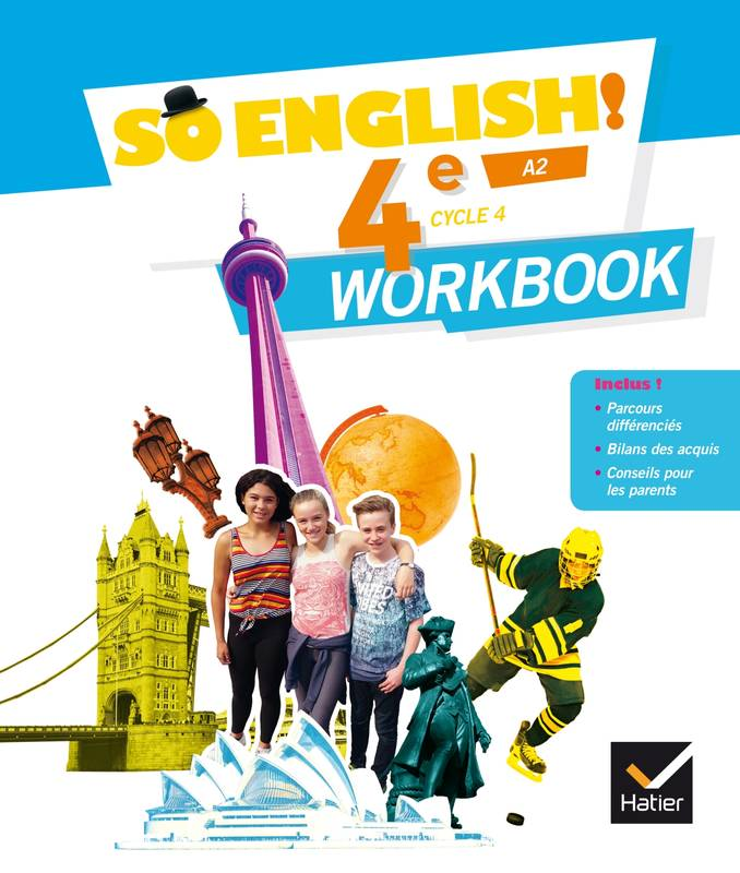 So English! - Anglais 4e Éd. 2017 - Workbook