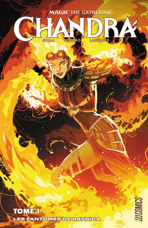 Les Fantômes de Ravnica, Magic : The Gathering - Chandra, T1