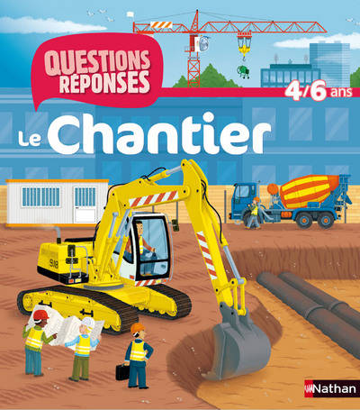 Livre: Le chantier, Jean-Michel Billioud, Nathan, Quest Repon 4/6 ...
