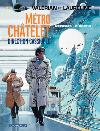 VALERIAN T9 METRO CHATELET DIRECTION CASSIOPEE, Volume 9, Métro Châtelet, direction Cassiopée