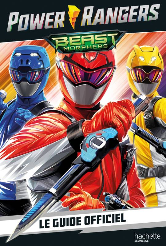 Power Rangers-Guide officiel