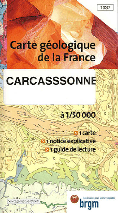 CARCASSONNE CARTE GEOLOGIQUE