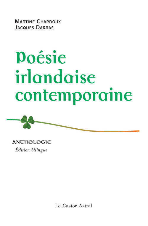 Poésie irlandaise contemporaine / anthologie, anthologie