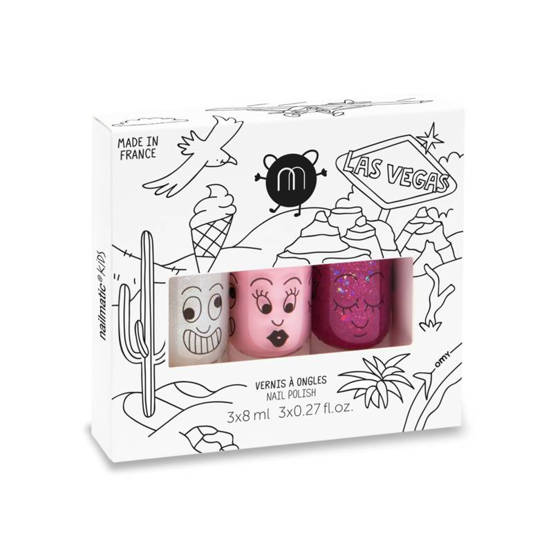Coffret 3 vernis à l'eau 8ml Super Bella Sheepy