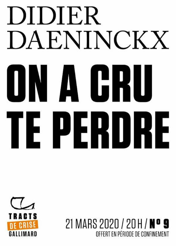 Tracts de Crise (N°09) - On a cru te perdre