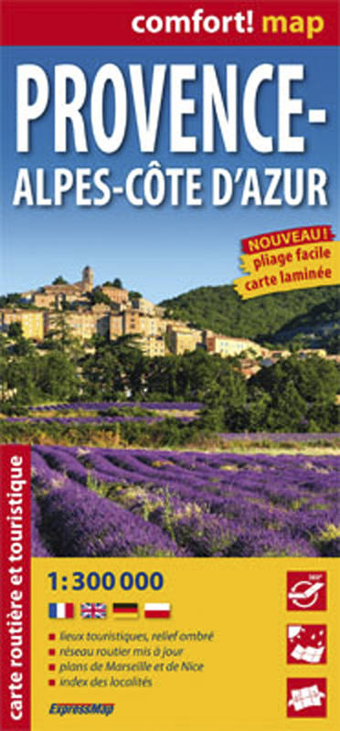 Confort!map : Provence Alpes-Coted'Azur - 1/300000