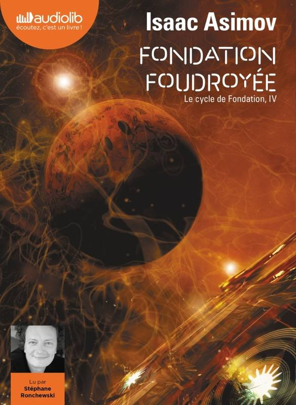Fondation foudroyée - Le Cycle de Fondation, IV, Livre audio 2 CD MP3