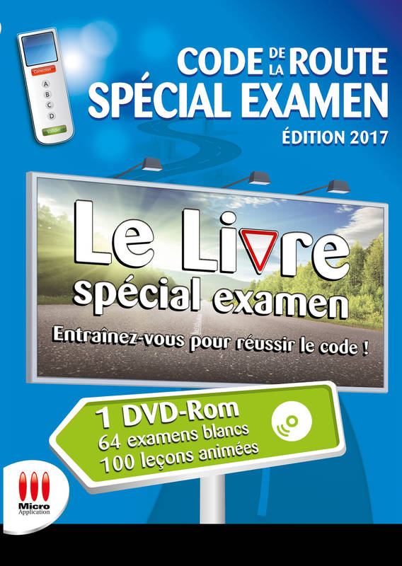 livre code de la route special examen ed 2017 avanquest. Black Bedroom Furniture Sets. Home Design Ideas