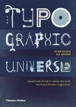 THE TYPOGRAPHIC UNIVERSE /ANGLAIS