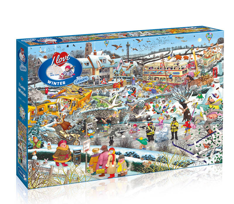 I love winter - 1000 PIECES