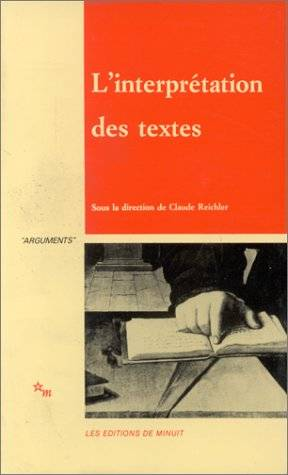 INTERPRETATION TEXTES  M
