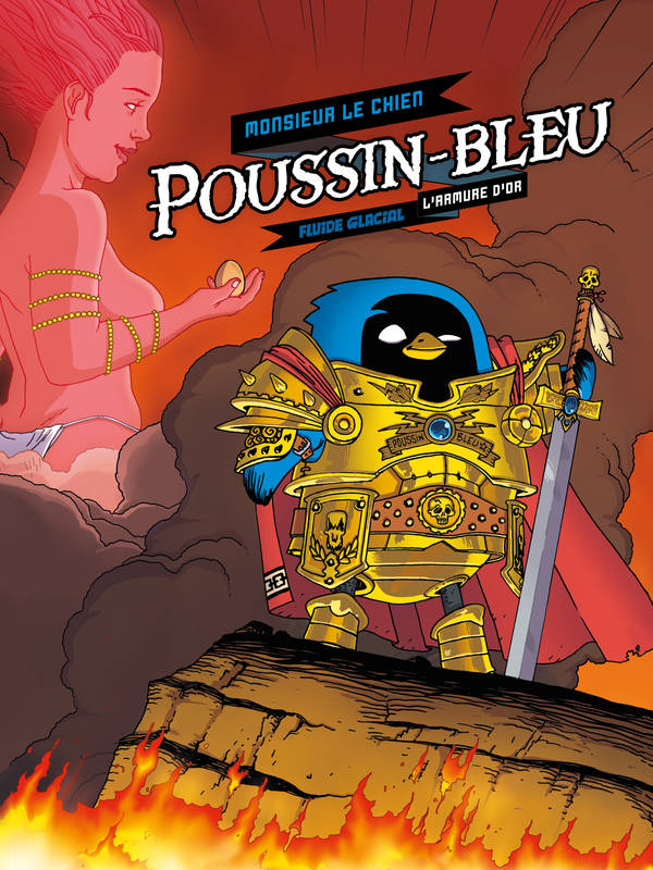 POUSSIN BLEU - TOME 1 - L'ARMURE D'OR
