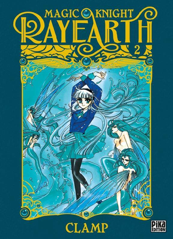 2, Magic Knight Rayearth T02